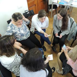 Meeting in TSU- group work.JPG
