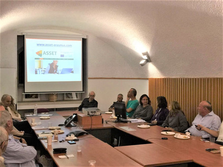 Dissemination of ASSET to HAC Higher Academic Council