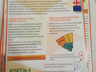 Disseminating ASSET at IL NA event