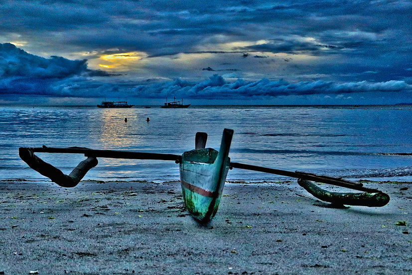 Fishermans Boat on the Beach