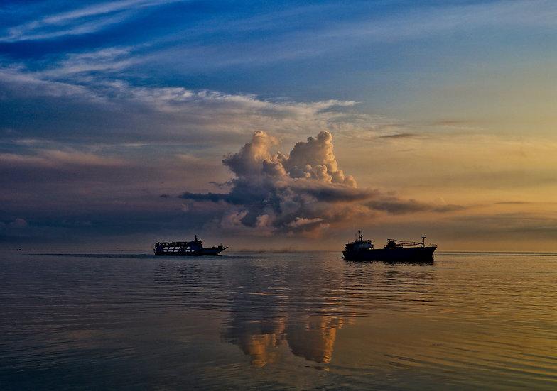 Morning Ships