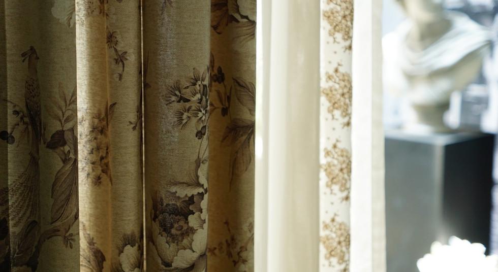 台北浮誇生活工作室歐式窗簾設計