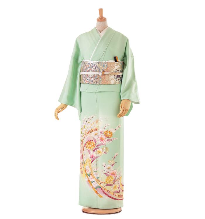 D4 色留袖 ¥24,800+税