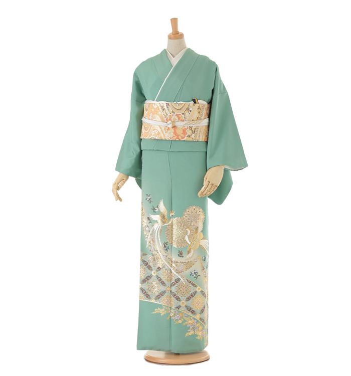 C4 色留袖 ¥19,800+税