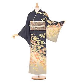 E3 訪問着 ¥29,800+税 季節の着物「紅葉」 京友禅