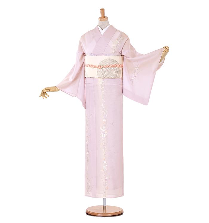 F3 訪問着 ¥34,800+税 総刺繍 7〜8月着用のお着物です。
