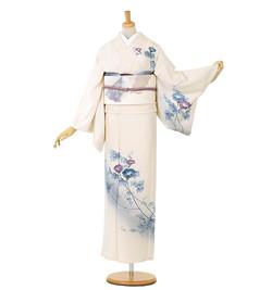 D1 訪問着 ¥24,800+税 7〜8月着用のお着物です。