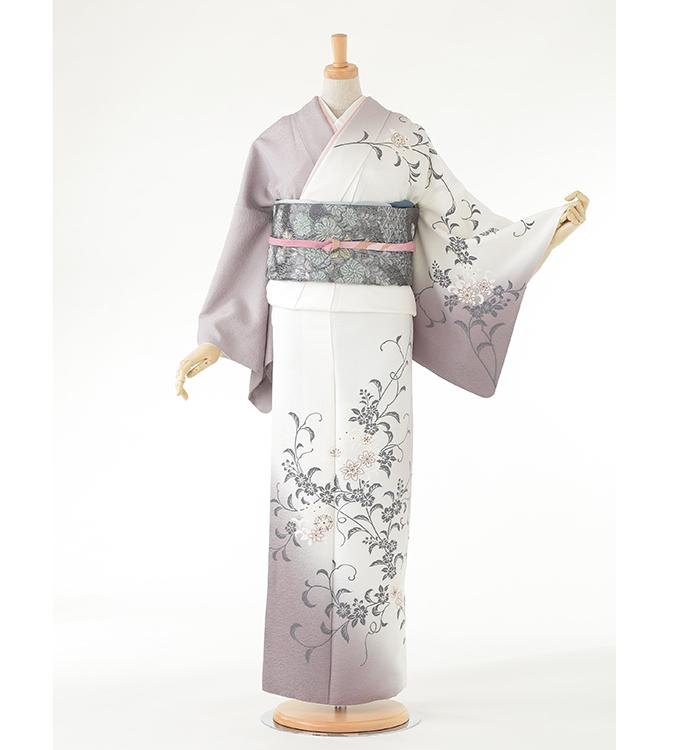 E4  訪問着 ¥29,800+税 Risa Hirako