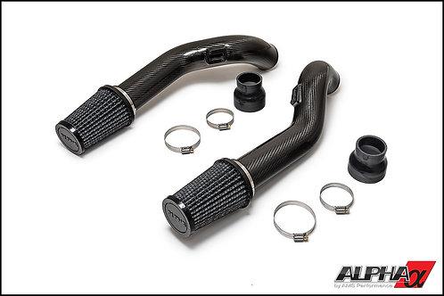 Alpha R35 GT-R Carbon Fiber Cold Air Intake