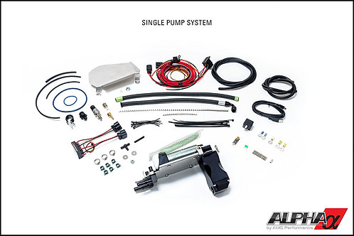 ALPHA Nissan GT-R Omega Fuel System - Single pump