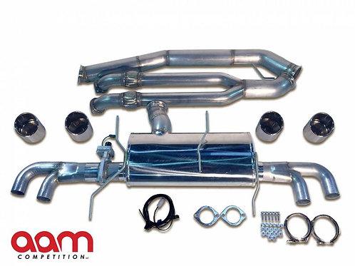 "AAM Competition GT-R 4"" Premium Adjustable Exhaust"