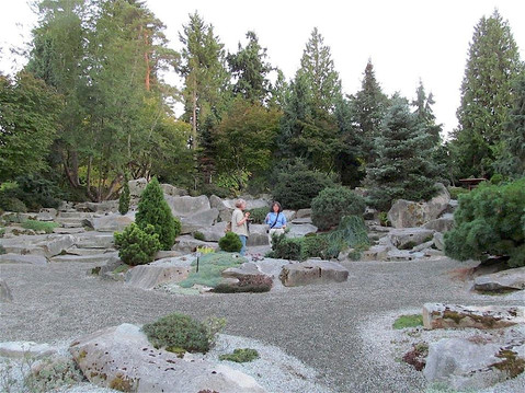 Inventorying the Rock Garden at the Bellevue Botanical Garden