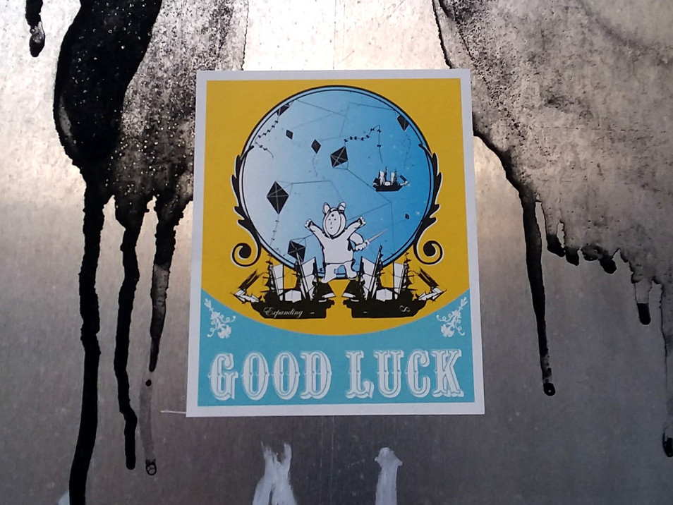 Good Luck Sticker Art V.1