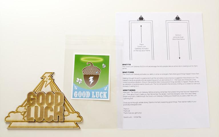 Good Luck Kit Pieces