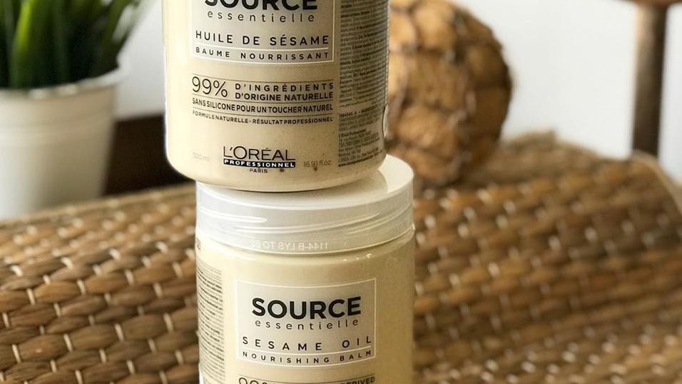 LOreal Professionnel Source Essentielle Nourishing Balm Sesame Oil