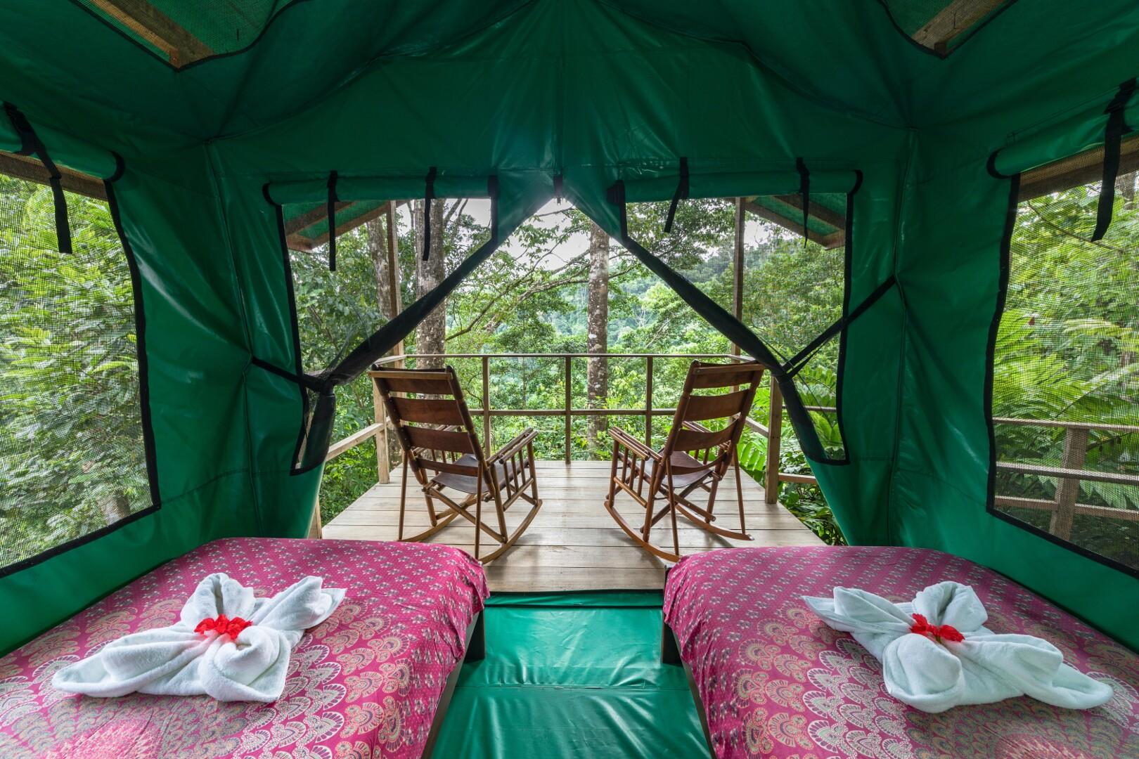 Tent-inside