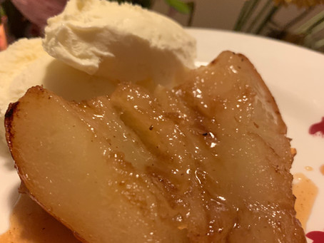 Honey Baked Pears