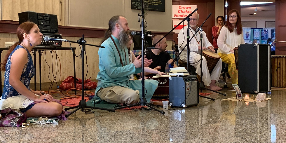 Kirtan / Music at Firefly Holiday Event