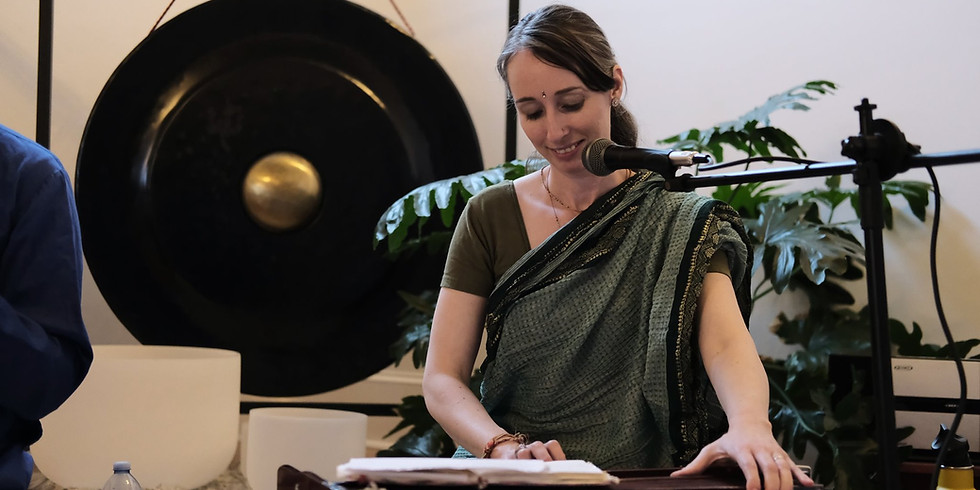 Kirtan at the Mindful Movement Yoga Festival