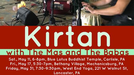 Upcoming Kirtan