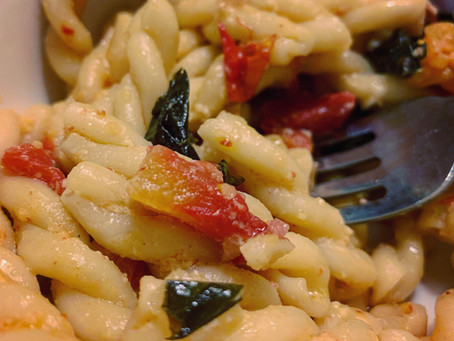 Recipe: Feta Fusilli
