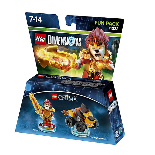 WARNER BROS Lego Dimensions Fun Pack Laval