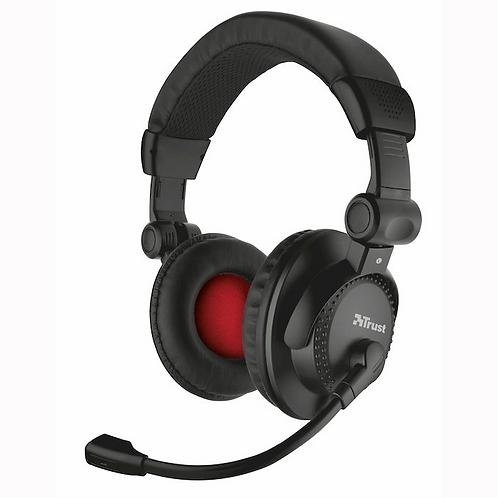 TRUST AHS-121 Headset Black/Red