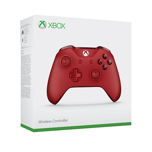 MICROSOFT Xbox One Controller Wireless Red
