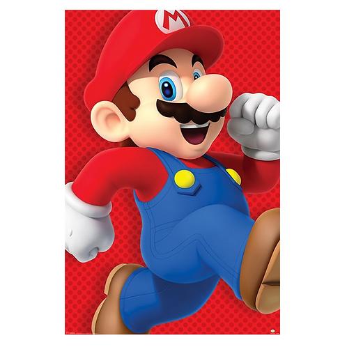Run Poster - Super Mario