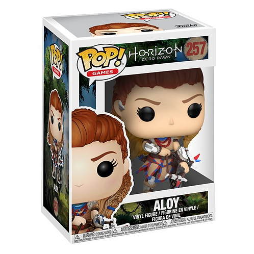 Aloy Vinyl Figure 257 Funko Pop! - Horizon: Zero Dawn