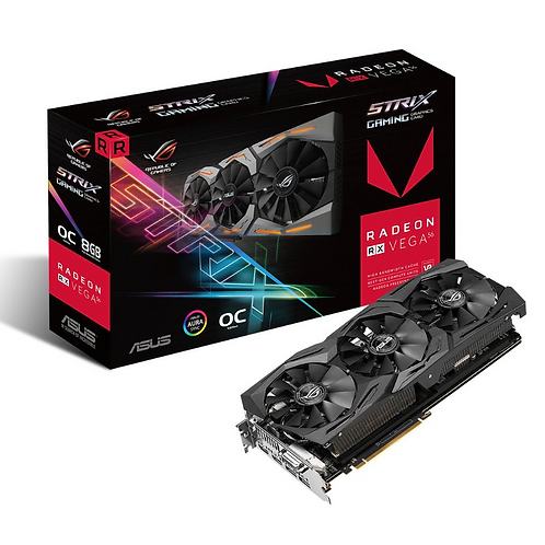 ASUS ROG-STRIX-RXVEGA56-O8G-GAMING Radeon RX Vega 56 8GB