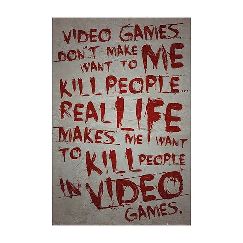 Gaming Videogames Poster