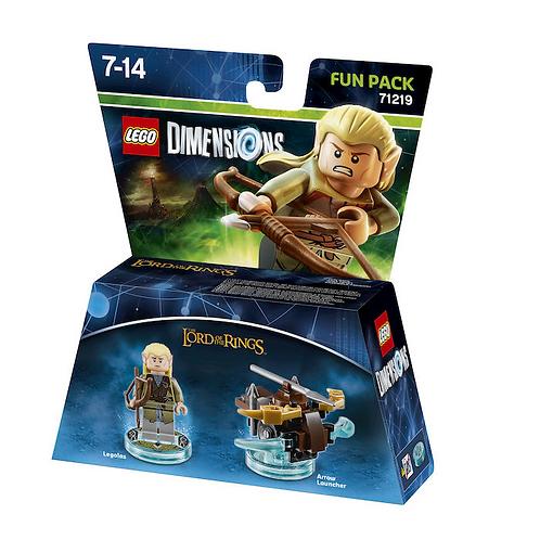 WARNER BROS Lego Dimensions Fun Pack Legolas
