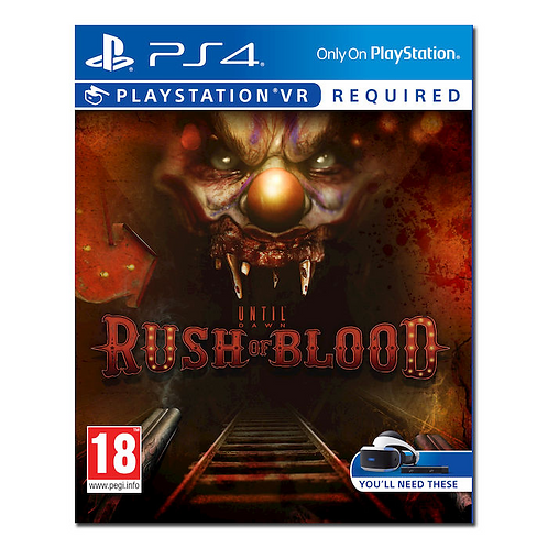 UNTIL DOWN Rush of Blood VR - PS4