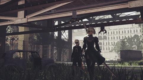 NieR Automata è disponibile su Xbox One con l'edizione Become as Gods