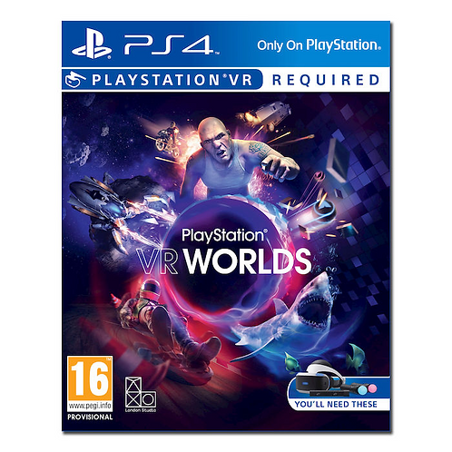 VR WORLDS - PS4