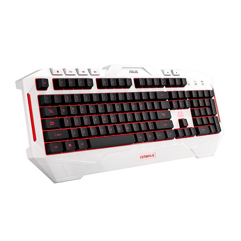 ASUS Cerberus Artic Keyboard White