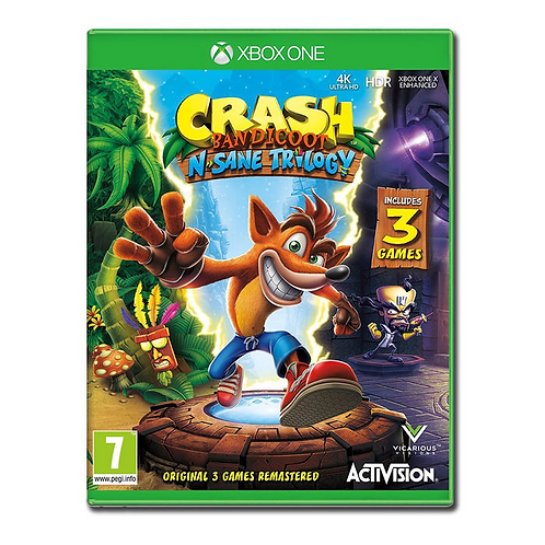 PREVENDITA Crash Bandicoot N. Sane Trilogy - XBOX ONE