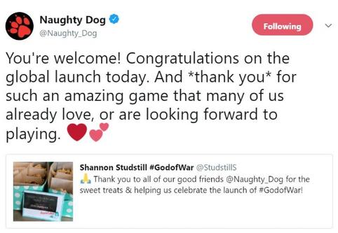 L'entusiasmo di Naughty Dog: noi siamo già innamorati di God of War