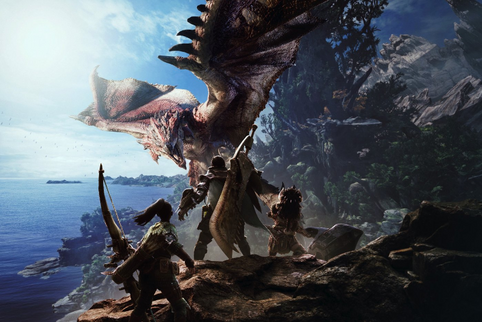 Monster Hunter: World - Il lancio è un successo su Steam, il più grande titolo giapponese di sempre