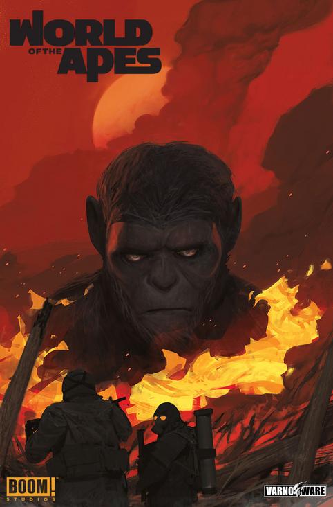 """BOOM! Sono pronte le illustrazioni per """"World of the Apes""""!"""