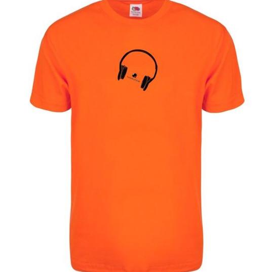 Orange Tunebubble Headphone logo