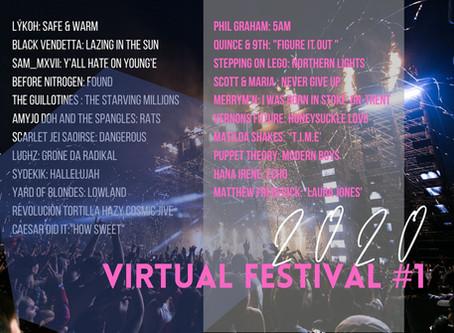VIRTUAL FESTIVAL #1 PLAYLIST
