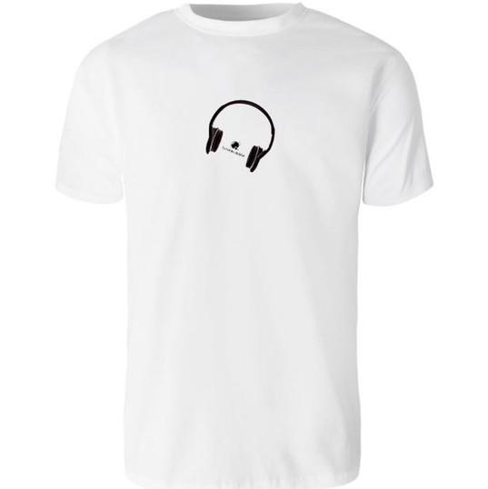 White Tunebubble Headphone logo