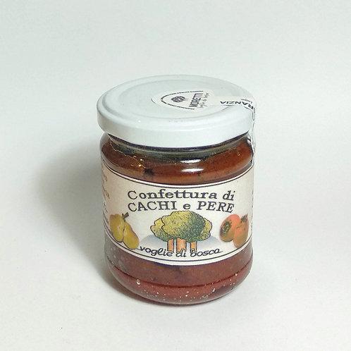 Confettura Extra di Cachi e Pere - 70% di frutta
