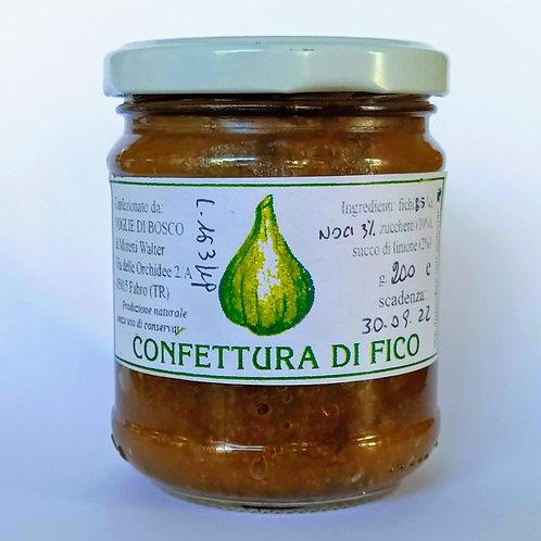 Confettura Extra di Fichi e Noci - 88% di frutta