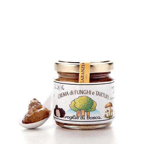 Crema di Funghi Porcini e Tartufo Nero - 80 grammi