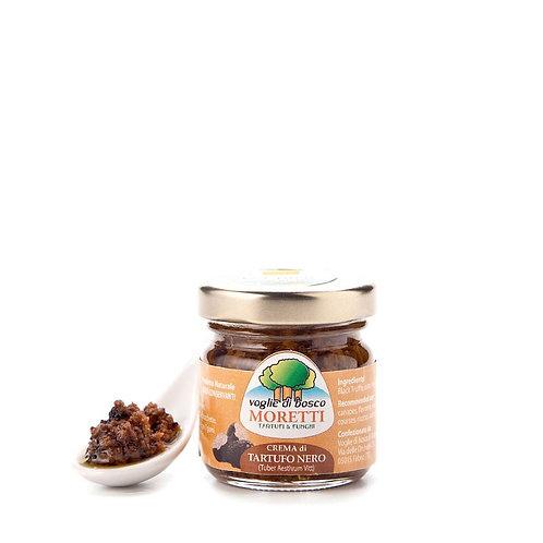 Crema di Tartufo Nero Estivo, olio EVO, sale - Umbria 100% italiano