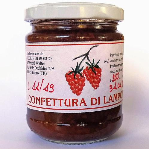 Confettura Extra di Lampone - 88% di frutta