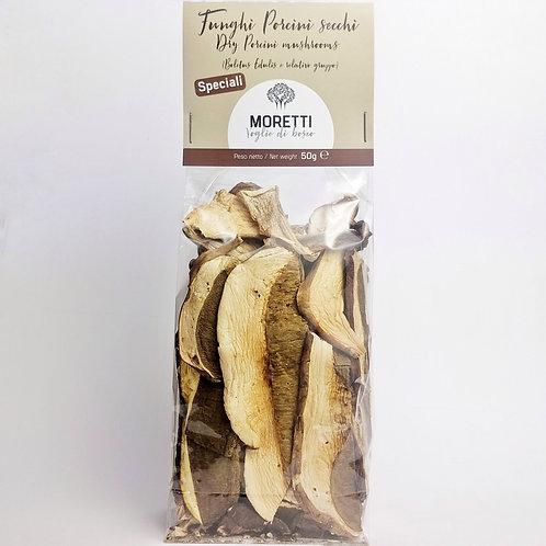 Funghi Porcini Secchi - Qualità Speciali - 50 grammi